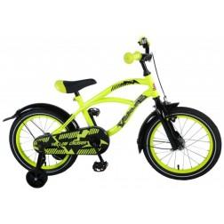 Bicicleta baieti Yellow Cruiser 16 inch cu roti ajutatoare - Volare