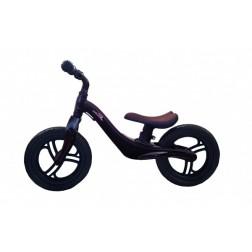 Bicicleta fara pedale 12 inch Neagra inaltime reglabila roti EVA - SKILLMAX