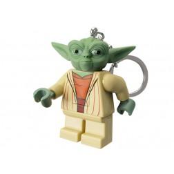 Breloc LEGO cu LED LEGO Star Wars - Yoda