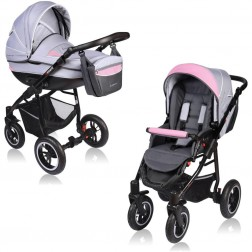 Carucior Crooner 2 in 1 - Vessanti - Pink/Gray