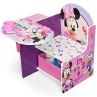 Scaun multifunctional din lemn Disney Minnie Mouse