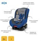 BM01B Scaun auto 0-18 kg Nonna Blue, BQS