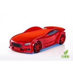 Pat masina tineret MyKids NEO BMW Rosu