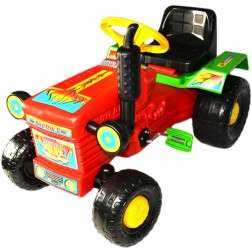 Tractor cu pedale Turbo red