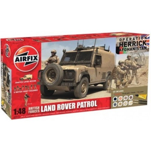 Kit constructie Set Afganistan Land Rover