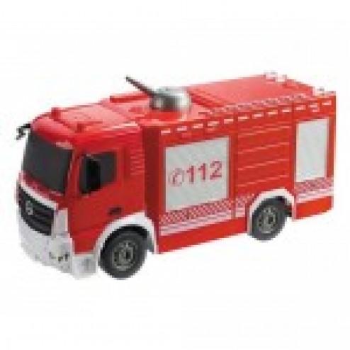 Camion Pompieri Mercedes Arocs cu telecomanda Mondo 63516 scara 1:26 care stropeste