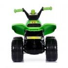 Quad cu pedale pentru copii Green Army Super Plastic Toys
