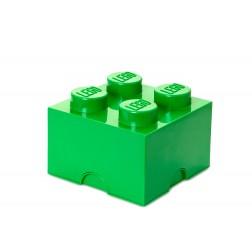 Cutie depozitare LEGO 2x2 verde inchis (40031734)