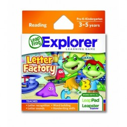 Soft educational LeapPad - Fabrica Literelor