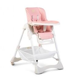 Scaun de masa pentru copii Cangaroo Chocolate Pink