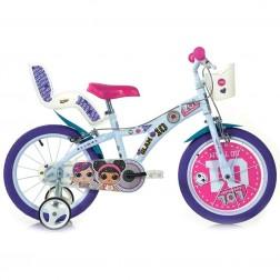 Dino Bikes - Bicicleta LOL 16 inch