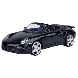 MACHETA  AUTO PORSCHE 911 TURBO CABRIOLET SCARA 1:18, MOTORMAX