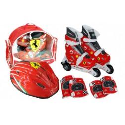 Set role cu accesorii protectie - Saica Ferrari