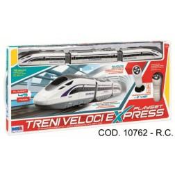 Tren electric cu sina si telecomanda RS Toys