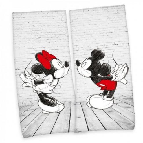 Set 2 prosoape bumbac 80 x 180 cm, Herding Mickey si Minnie