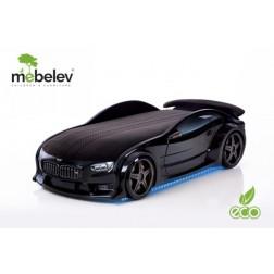 Pat masina tineret MyKids NEO BMW Negru