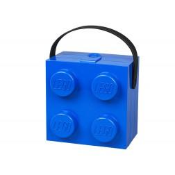 LEGO Cutie pentru sandwich 2x2 albastră