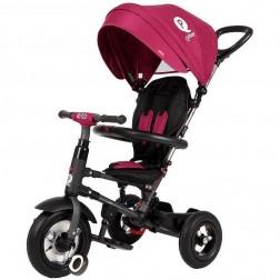 Tricicleta pliabila cu roti gonflabile Qplay Rito - Sun Baby - Marron