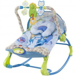 Balansoar pentru copii cu melodii si vibratii Regatul Animalelor - Sun Baby