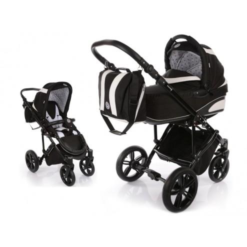 Carucior copii 2 in 1 cu landou MyKids Volkswagen Carbon Optik Black