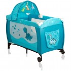 Pat pliant Samba Lux - Coto Baby - Albastru