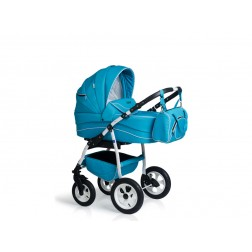 Carucior copii 3 in 1 MyKids Germany Blue Deschis