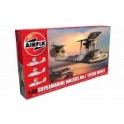 Kit constructie Airfix avion Supermarine Walrus Mk.1 'Silver Wings' 1:48