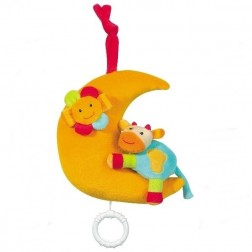 Jucarie muzicala Luna - Brevi Soft Toys-168396