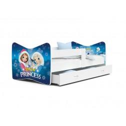 Patut Tineret MyKids Tomi  63 Snow Princess-160x80