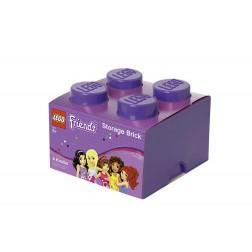 Cutie depozitare LEGO Friends 2x2 violet (40031746)