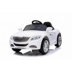 Masinuta electrica Moderny Coupe alba 2x6V control parental din telecomanda - Trendmax