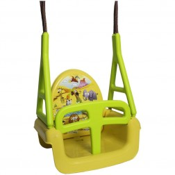 Leagan Multifunctional 3 in 1 Safari Galben - Tega Baby