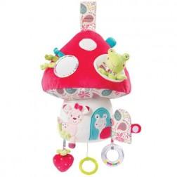 """Centru activitati cu Led """"Ciuperca Bambi"""" - Brevi Soft Toys"""