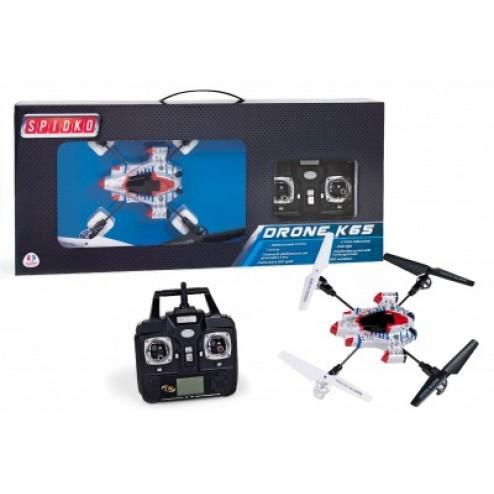 Drona K65 Spacecraft Globo cu telecomanda si lumina 2.4Ghz