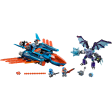 Avionul Falcon Blaster al lui Clay (70351)
