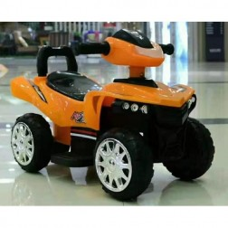 Motocicleta electrica 6V portocalie