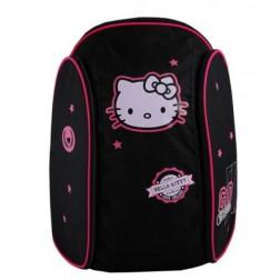 Ghiozdan gimnaziu Hello Kitty negru Pigna si minge cadou