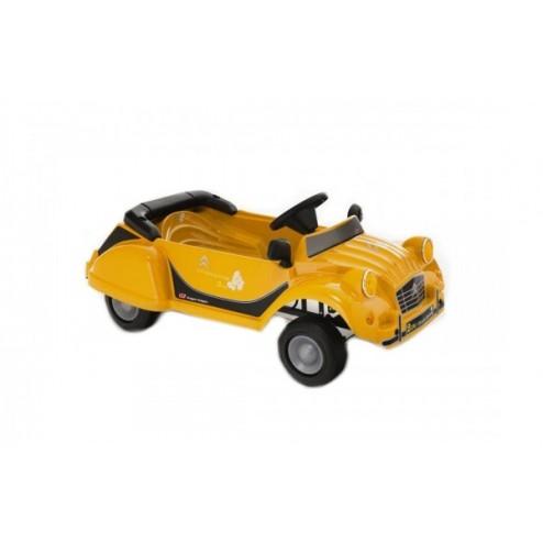 Masinuta cu pedale copii ToysToys Citroen Charleston 2CV galben