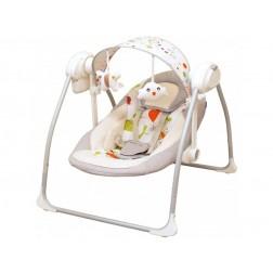 Balansoar Portabil Copii Baby Mix BY012S Gri