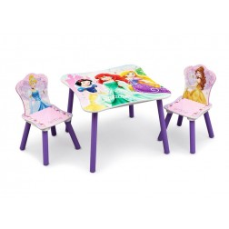Set masuta si 2 scaunele Disney Princess Friendship