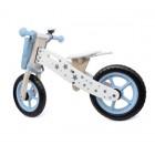 Bicicleta lemn Balance_albastra