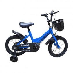 Bicicleta 14 inch albastra