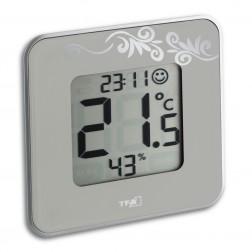 Termometru si Higrometru digital STYLE gri TFA