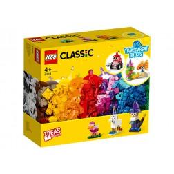 LEGO Caramizi transparente