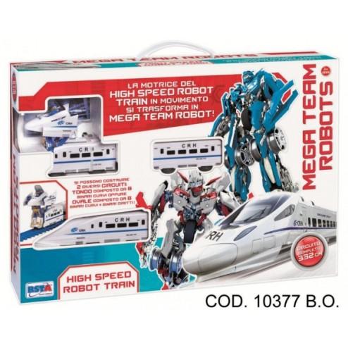 Tren robot de mare viteza, RS Toys