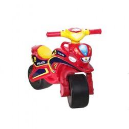 Motocicleta de impins Police Music 0139/56 Rosu Galben - MyKids