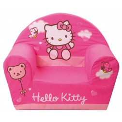 Fotoliu din burete Hello Kitty