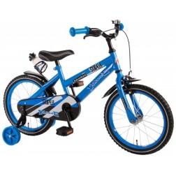 Bicicleta pentru baieti 16 inch, cu roti ajutatoare, Volare Super