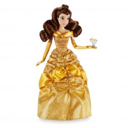 Papusa Disney Printesa Belle cu amic de companie
