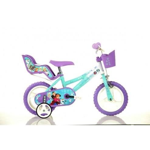 """Bicicleta Frozen 12"""" - Dino Bikes"""